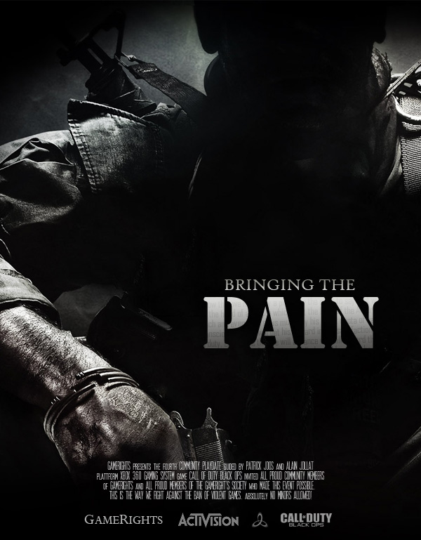 On a Xbox 360 near you: Bringing the Pain