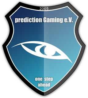 Das Logo von prediction Gaming e.V.
